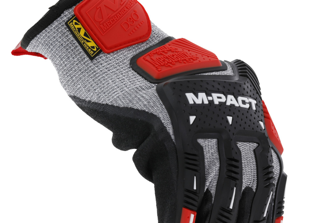 Rukavice Mechanix M-Pact Knit CR5A5, velikost L