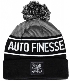 Auto Finesse Bobble Knitted Beanie - Grey