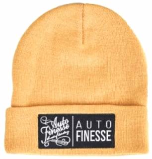 Auto Finesse The Double Stack Beanie Mustard